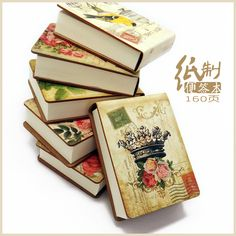 Hot 1PC Vintage Kraft Paper Hardcover Memo Pad Post-it Sticky Bookmark Cute Stationery Superstar Quality Office School Supplies
