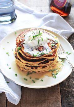 Roasted Acorn Squash Pancakes