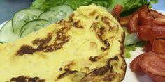 Omelete de whey protein