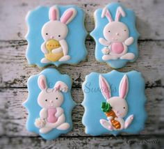 Cute Easter Bunnies by Emma's Sweets