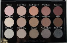 MAC Cosmetics Cool Neutral Palette x15
