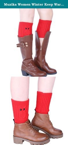 """Muxika Women Winter Keep Warm Owl Knitting Stocking Leg Warmer Trim Boot Socks (Red). ▶Description ▶Material:Acrylic fibres ▶Length:18cm/7.1""""(The manual measurement may be a little error) ▶For Adult wear ▶Soft and comfortable ▶Our leg warmers are any boot's best friend. ▶ We love them with rain or ankle-length boots. ▶You can Pair them with tights, leggings, skirts, skinny jeans for a sweet cozy look. ▶Care: Hand wash cold and lay flat to dry ▶Package: ▶1Pair Women Socks."""