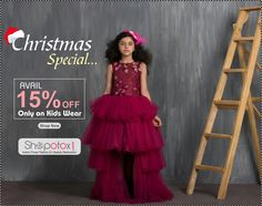 Christmas special #offer for kids wear from shopotox.com, Shop now and get 15% off.