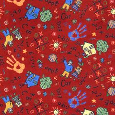 Joy Carpets�Scribbles Red Cut Pile Indoor Carpet