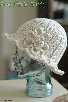 Ravelry: Ridge Hat with Brim pattern by Kool Stitch