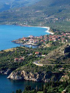 Kardamyli in #Peloponnese #Greece  www.iridaresort.gr
