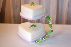 wedding cakes pictures | Lily of the Valley Wedding Cake | Timeless Cakes