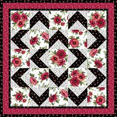 Walk About Quilt Pattern: