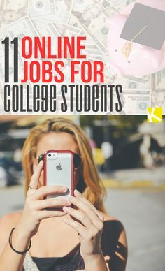11 Online Jobs for College Students
