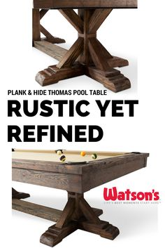 Watsonu0027s Is Your Pool Table Destination, With Billiard Tables And Pool  Tables For Sale From Top Manufacturers Like Brunswick, American Heritage,  Imperial, ...
