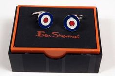 Okay, these are the cufflinks I bought on the old Ben Sherman US site.