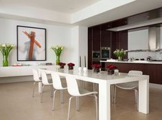 Fabulous Flat - modern - dining room - new york - West Chin Architects & Interior Designers