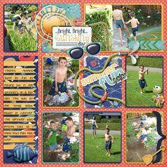 Summer Fun - Page 1 - Scrapbook.com