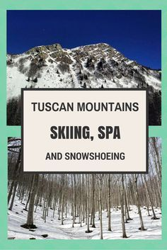 The Tuscan Mountains, Tuscany's lesser-known side, with adventure activities and amazing scenery. And better yet... no tourists!