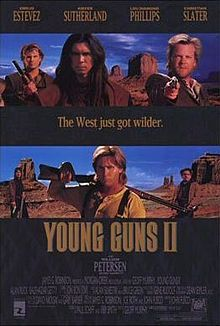 Great movie. Got me interested in learning about Billy the kid. And I researched all about him.
