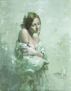 Portrait of Anastasia, by Jeremy Mann