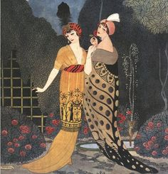 Illustration by Paul Iribe (1883-1935).
