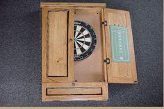 THE GALLATIN GROUP - Dartboard Cabinet