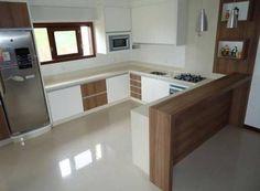 Imagini pentru bancada da cozinha com porcelanato