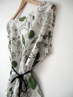 Kimono Blusa pájaros volando / Kimono shoes & more - Artesanio