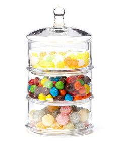 I love this!  Another great find on #zulily! Small Three-Tier Canister by Global Amici #zulilyfinds