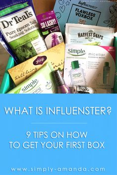 What is influenster? Read all about how you can use this website to snag free stuff to review for your Instagram, blog or YouTube channel!