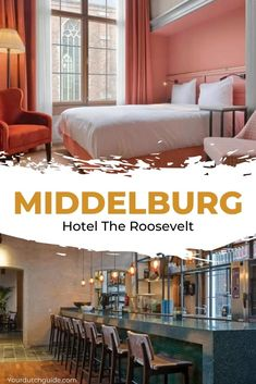 The Roosevelt Middelburg. Stay in one of the prettiest boutique hotels in The Netherlands, check out the lovely The Roosevelt in Middelburg.