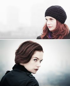 """Alice Morgan: """"Some little girls grow up wanting ponies; I always wanted to be a widow."""" #luther"""