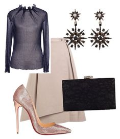 """""""I'm ready!"""" by fifinstyle on Polyvore featuring Jil Sander Navy, Christian Louboutin and Chesca"""