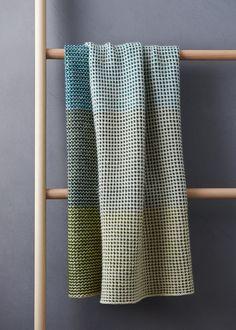 Ravelry: Tonal Blanket pattern by Purl Soho Free Baby Blanket Patterns, Crochet Blanket Patterns, Stitch Patterns, Knitting Patterns, Knitting Ideas, Slip Stitch Knitting, Free Knitting, How To Purl Knit, Knit Purl