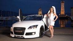 Women - Girls & Cars  Wallpaper