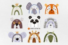 Daily Gifts – Free Fonts, Crafts & Graphics - Creative Fabrica Graphic Illustration, Illustrations, Animal Faces, Vector Graphics, Stationery, Clip Art, Kids Rugs, Holiday Decor, Printable