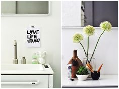 Bathroom styling - European blogger styling competition at Vipp #bodieandfouvipp | styling: @Manorama Barik @ EclecticTrends, @Hege Pettersen in France, @panyizsuzsi - bold.color.glass - bold.color.glass | photo: @panyizsuzsi - bold.color.glass - bold.color.glass