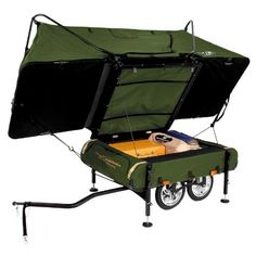Would love to try one of these out for some family bike camping!