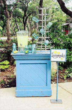 Revive Vintage Rentals lemonade stand