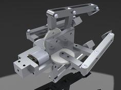 Robot Arm - 4 Bar Linkage End Effector, Robot Gripper - 11037 - Robotpark ACADEMY