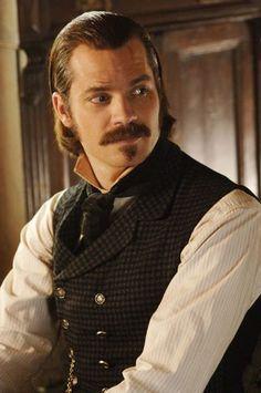 Seth Bullock - aka Timothy Olyphant. In Deadwood - Darien Bucklin, Judson's partner