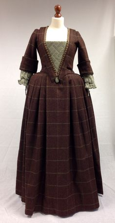 Terry Dresbach shars Lettitia's costumes from Outlander on Starz