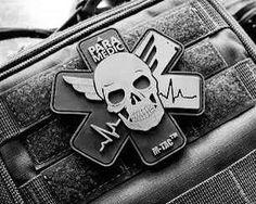 Paramedic emblem Firefighter Decals, Firefighter Emt, Tactical Patches, Tactical Gear, Firemen, Firefighters, Paramedic Tattoo, Emt Memes, Flight Nurse