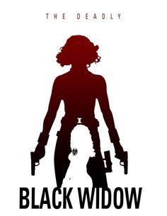 Black Widow - Deadly By Steve Garcia