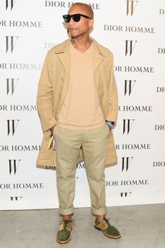 Pharrell's iconic style moments throughout the years that helped him win this year's CFDA Fashion Icon Award.