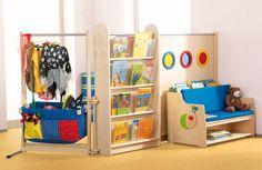Espace de jeu libre et d'imitation - Jouer / Construire - Exemples d'aménagement - Haba petite enfance - Habermaaß GmbH