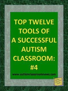 Autism Classroom News: Top Twelve Tools of a Successful Autism Classroom: #4 {Freebie}. Binders and how to use them
