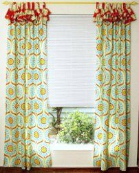If you're going to learn how to make curtains, do yourself a favor by sewing together these Bright and Cheery Ruffled Curtains. These DIY curtains will surely ignite a smile on anyone's face. Don't settle for drab; add some cheer to your #homedecor!
