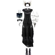 """He recopilada una nueva tanda de looks inspirados en el estilo Strega/DarkMori/Dark Boho, o como yo lo llamo """"saca la bruja/el brujo que ll..."""