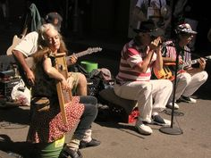 Street Musicians in New Orleans, Louisiana