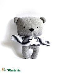 Medve maci játékfigura Plüss játék Plüss figura plüssmaci (meilingerzita) - Meska.hu