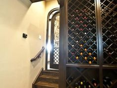 Wine Cellar by Bella Vita Custom Homes  http://www.livingbellavita.com/cognac-lounges-and-wine-cellars-photo-gallery