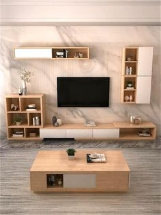Living Room Tv Unit Designs, House Interior, Home Room Design, Minimalist Living Room, Home Decor Crate, Home Decor Boxes, Living Room Design Modern, Tv Room Design, Home Decor Styles