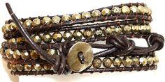 It's A Wrap leather bracelet by Premier Designs.